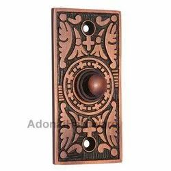 Decorative Rectangular Bell Push