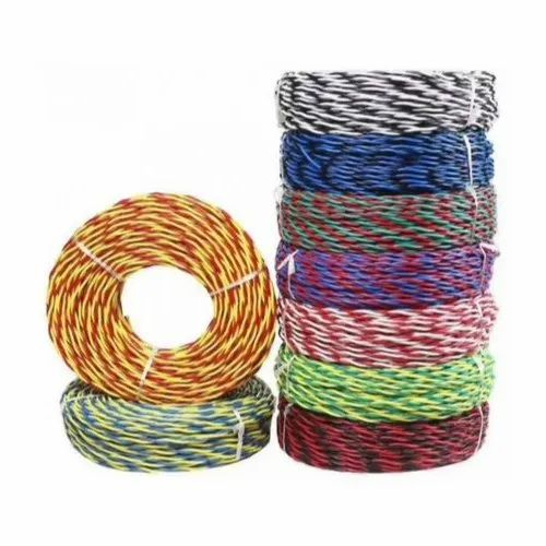 Electricity 90 Meter PVC Flexible Twisted Wire