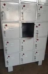 Mild Steel Square Staff Lockers Cabinets