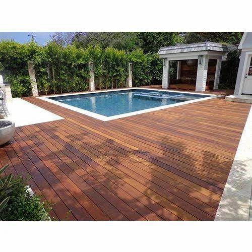 Swimming Pool IPE Deck Flooring