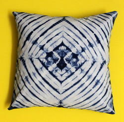 Shibori & Tie Dye Cotton Cushion Cover