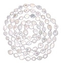 Clear Quartz Bezel Chain