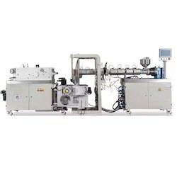 Dual Pipe Screw Extruder Line