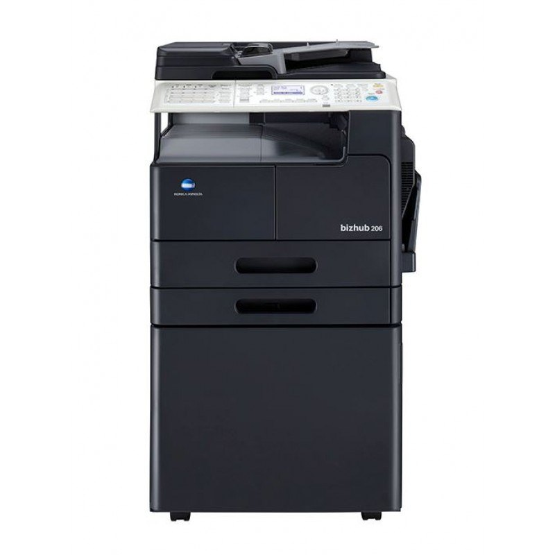 Konica Minolta bizhub 206 Monochrome Multifunction Printer, Upto 20 p...