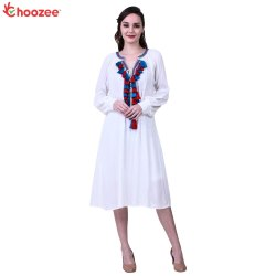 La Bella Women Dress with Tassel