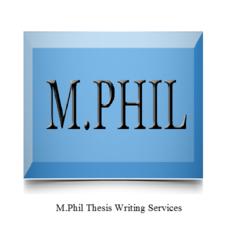 M.Phil Dissertation Writing