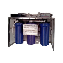 Stainless Steel ROUF 50LPH, Reverse Osmosis, Automation Grade: Fully Automatic