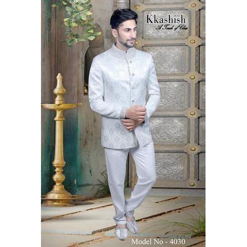 Kkashish Wedding Wear Mens Stylish Indo Western Rs 11900 Piece