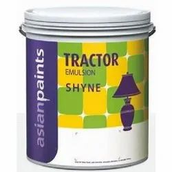 Asian Paints Shyne Tractor Emulsion Paints, Packaging Type: Bucket