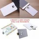 Credit Card Shape OTG USB Pendrive