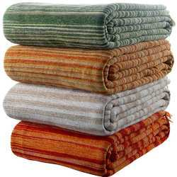 Cotton Chenille Throws