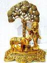 Cow Krishna Tree