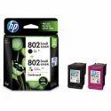 802 HP Combopack Ink Cartridges