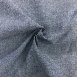 Organic Cotton Chambray Solid Fabric
