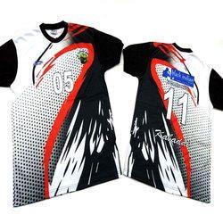 Polyester Men Round Neck Sports T-Shirt