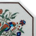Octagonal Table Top Dining Marble Inlay Table Tops