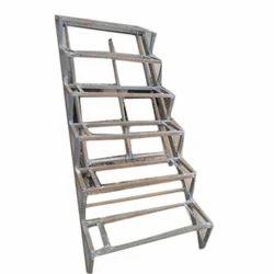 Straight Run Iron Stairs