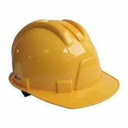 Violet Polypropylene Plastic Karam Brand & 3 M Brand Head Protection Helmets, for Construction
