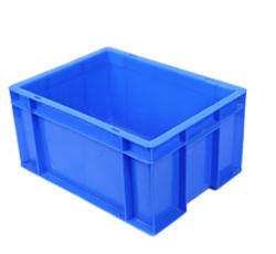 Blue Rectangular Industrial Crates, Capacity: 17 Ltrs