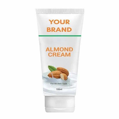 almond face cream