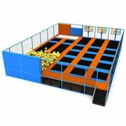 Commercial Trampoline Park Zone