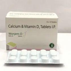 Calcium & Vitamin D3 Tablet IP
