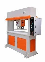 Mild Steel Footwear Clicker Machine, Working Pressure: 25 Ton