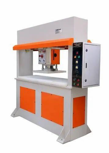 Mild Steel Footwear Clicker Machine, Working Pressure: 25 Ton