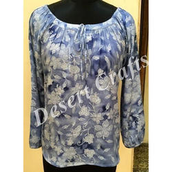 Printed Women's Trendy Top, All Colour