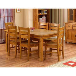 Wooden Brown Dining Table