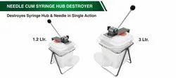 Needle Cum Syringe Hub Destroyer
