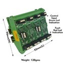 2 AMP SHORT CIRCUIT PROTECTED DC TO DC SSR 8CH CARD