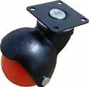 Round Plate Ball Castor