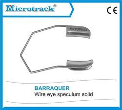 Barraquer Wire Speculum Solid Blade - Ophthalmic Surgical Instruments