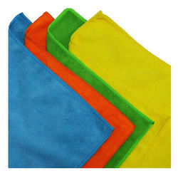 NACS Green And Blue Microfiber Cleaning Cloth, Size: 40x40 cm