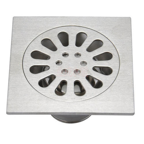 Stainless Steel Floor Drain at Rs 110 /piece | Stainless Steel ...