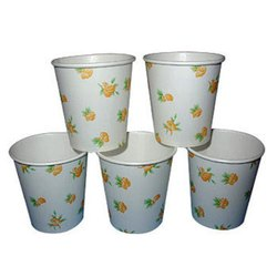 Vmetic Printed White Paper Cups for Event And Party Supplies