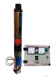 Kirloskar 1 HP Single Phase Oil Filled Tubewell Submersible Pump KP4Jalraaj1008S-CP, With Control Pa