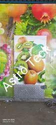 Kiwi fruits cold storage room