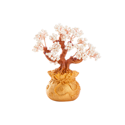 Artificial Gemstone Bonsai Tree