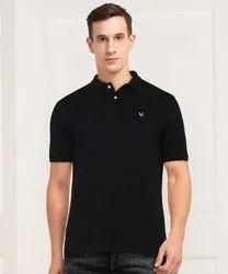 Men Polo Cotton Lycra T Shirt