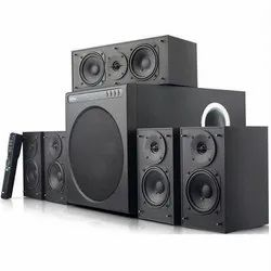 Black 5.1 Digital Home Theater System