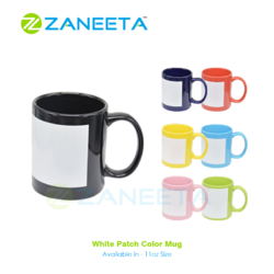 Sublimation Patch Mug - 11oz