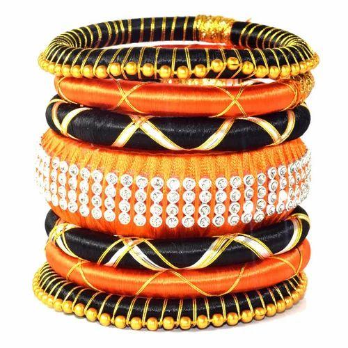Anmol Exports Indian Handcraft Beautiful Women Wear Silk Thread Bangles