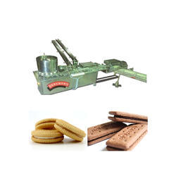 SS Cream Biscuit Sandwiching Machine, Capacity: 2 Ton