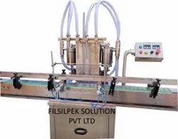AutomaticTwinHead Liquid Filling Machine