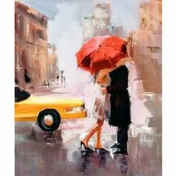Water Color Painting, Size: H 18 X W 24 Inch
