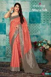 New Designer  Manjubaa Mayra Silk Saree Catalog Collection