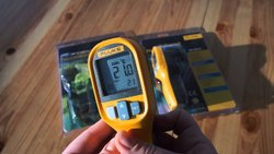Fluke IR Thermomter /Temperature Gun For Corona