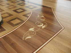 Green Variety Of Color Wooden Flooring Service